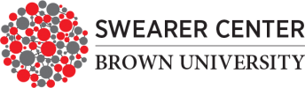 swearer center at brown university logo