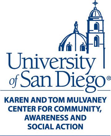 university of san diego mulvaney center logo